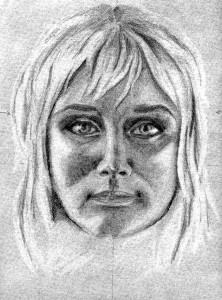Retrato de Eugenia Aleeva