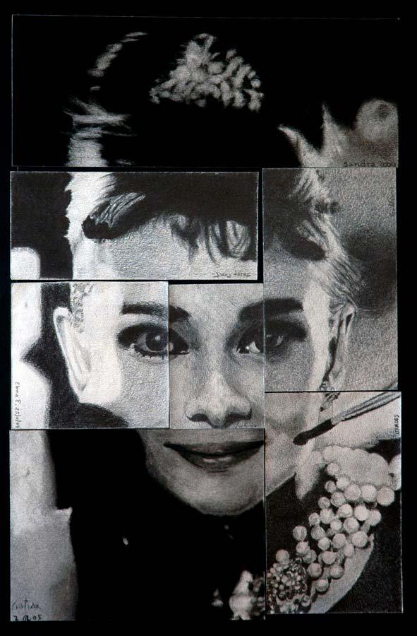 Cádaver exquisito de Audrey Hepburn