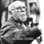 J. MARTÍNEZ LOZANO. Pintor y acuarelista