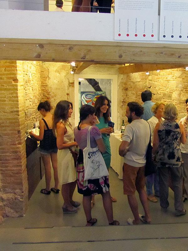 """Inauguración de la exposición """"Petit Format"""" del colectivo GAP"""