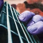 Pintura realizada con gouache sobre papel